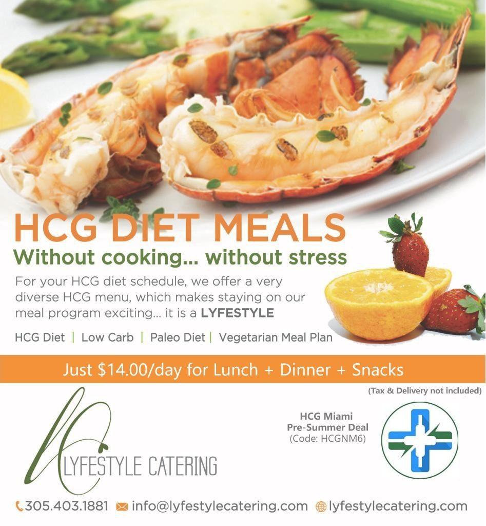 hcg diet catering